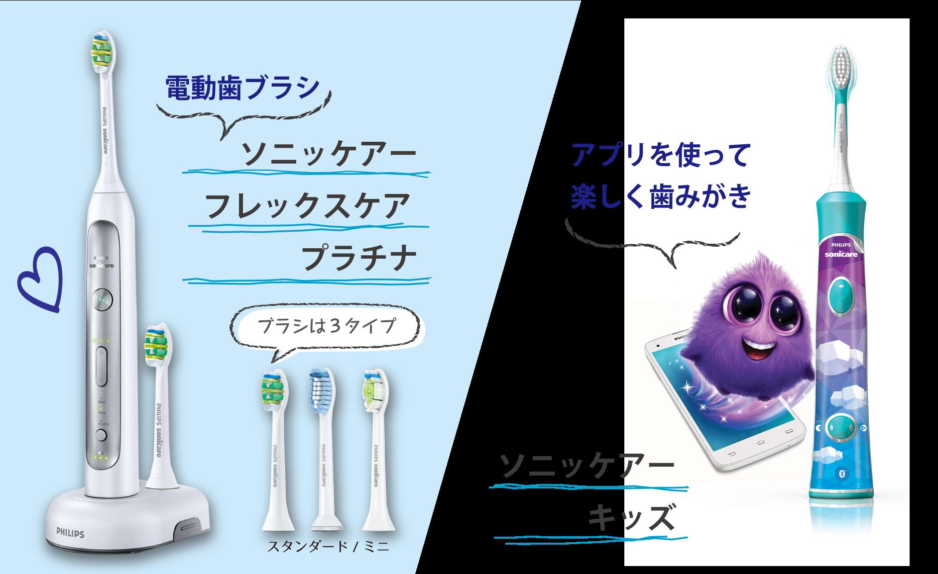 ソニッケア商品の紹介